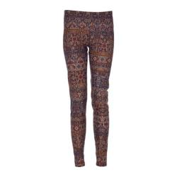 Women's Ojai Clothing Globe-Trotter Leggings Espresso Tapestry
