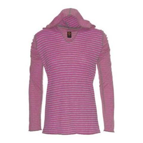 Women's Ojai Clothing Reversible Topa Hoody Razzmatazz