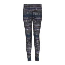 Women's Ojai Clothing Globe-Trotter Leggings Violet Neddlepoint
