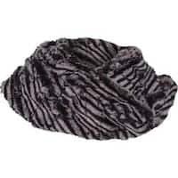 Women's Ojai Clothing Groovy Cowl Scarf Black/Chalk