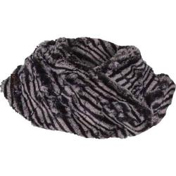 Women's Ojai Clothing Groovy Cowl Scarf Black/Chalk