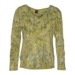 Women's Ojai Clothing Kangaroo Henley Shirt Sulfur