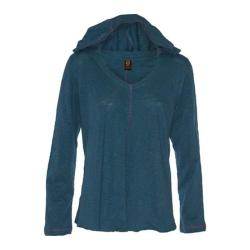 Women's Ojai Clothing Relaxed Hoody Deep Sea