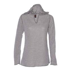 Women's Ojai Clothing Reversible Topa Hoody Chalk
