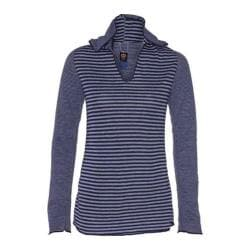Women's Ojai Clothing Reversible Topa Hoody Intense Blue