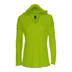 Women's Ojai Clothing Reversible Topa Hoody Lemongrass