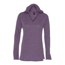 Women's Ojai Clothing Reversible Topa Hoody Plum