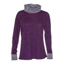Women's Ojai Clothing Reversible Topa Krush Turtleneck Plum