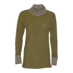 Women's Ojai Clothing Yoga Turtleneck Moss