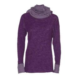 Women's Ojai Clothing Yoga Turtleneck Plum