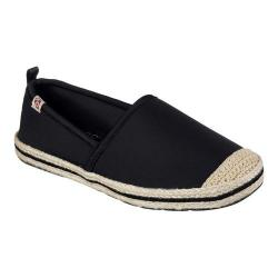Women's Skechers BOBS Flexpadrille Gypsy River Espadrille Black