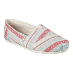 Women's Skechers BOBS Plush Lil Fox Alpargata Off White