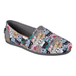 Women's Skechers BOBS Plush Scratch Party Alpargata Multi