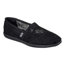 Women's Skechers BOBS World Daisy and Dot Alpargata Black