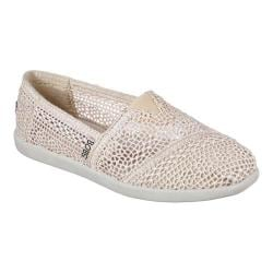 Women's Skechers BOBS World Daisy and Dot Alpargata Natural