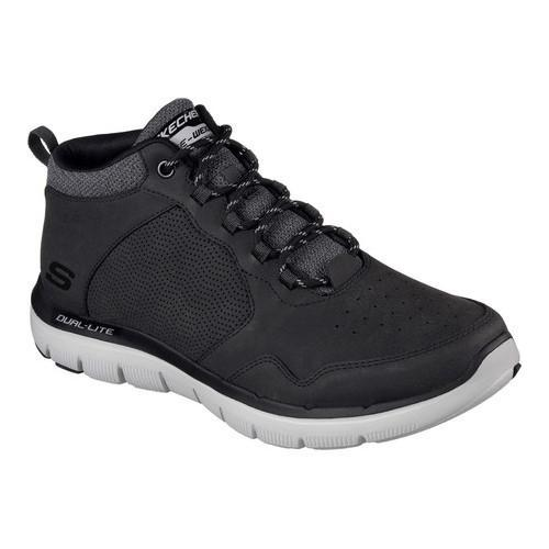 25e17f71fb5a Shop Men s Skechers Flex Advantage 2.0 High-Key Trainer Black - Free  Shipping Today - Overstock - 13396040