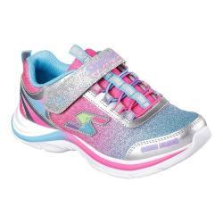 Girls' Skechers Game Kicks Swift Kicks Super Skillz Sneaker Silver/Multi