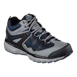 Men's Skechers Geo-Trek Sequencer Trail Sneaker Gray/Blue