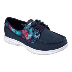 Women's Skechers GO STEP Cabana Boat Shoe Navy