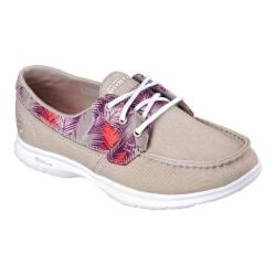 Women's Skechers GO STEP Cabana Boat Shoe Taupe