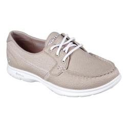 Women's Skechers GO STEP Riptide Boat Shoe Natural
