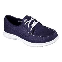 Women's Skechers GO STEP Riptide Boat Shoe Navy