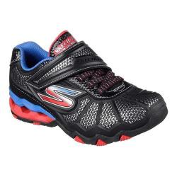 Boys' Skechers Hydro Static Sneaker Black/Red