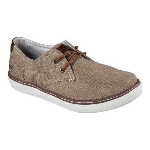 Men's Skechers Relaxed Fit Palen Gadon Sneaker Light Brown