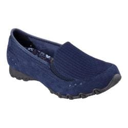 Women's Skechers Relaxed Fit Bikers Outlaw Slip-On Navy