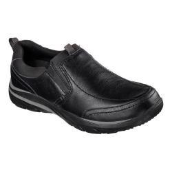 Men's Skechers Relaxed Fit Corven Ovince Slip On Shoe Black