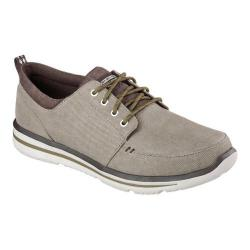 Men's Skechers Relaxed Fit Doren Torio Lace-Up Light Brown