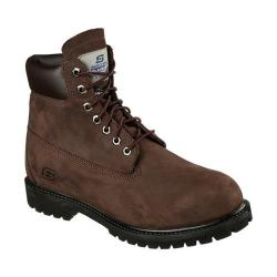 Men's Skechers Relaxed Fit Duson Steno Boot Chocolate