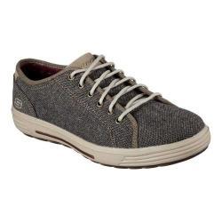 Men's Skechers Relaxed Fit Porter Meteno Sneaker Dark Brown