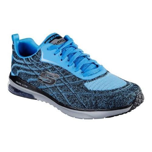 ee1e003337bed Shop Men's Skechers Relaxed Fit Skech-Air Infinity Belden Sneaker Blue/Black  - Free Shipping Today - Overstock - 13396187