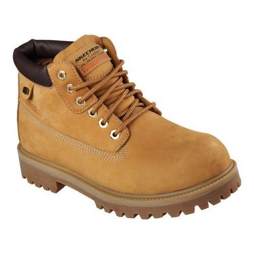 Men X27 S Skechers Sergeants Verdict Rugged Ankle Boot Wheat