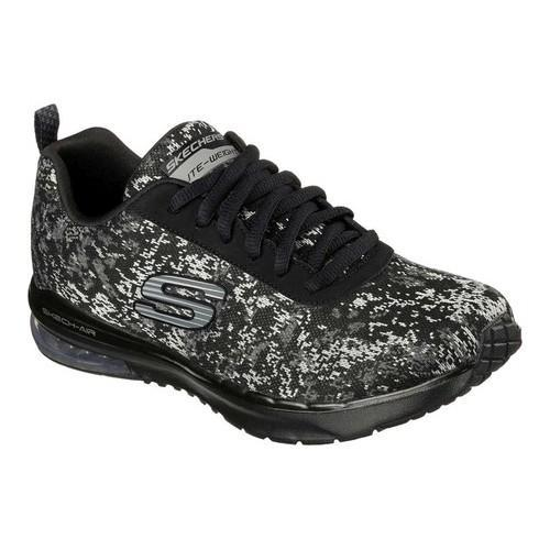 960d726d63dcd7 Shop Women s Skechers Skech-Air Infinity Solitude Training Shoe Black Gray  - Free Shipping Today - Overstock - 13396205