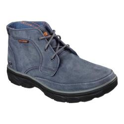Men's Skechers Relaxed Fit Resment Tavos Ankle Boot Blue