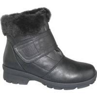 Women's Toe Warmers Kengi Winter Boot Black Polyurethane