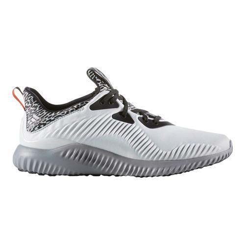 f2cdcdc99dbf5 Shop Men s adidas AlphaBOUNCE Running Shoe Crystal White Matte Silver Clear  Grey - Free Shipping Today - Overstock - 13405062