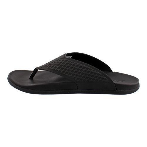 sports shoes a34c4 e17a8 ... Thumbnail Men  x27 s adidas Adilette Supercloud Plus Y Thong Slide  Black White ...