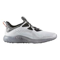 Men's adidas AlphaBOUNCE Running Shoe Crystal White/Matte Silver/Clear Grey