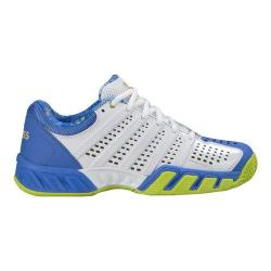 Women's K-Swiss BigShot Light 2.5 50/White/Ultramarine/Gold