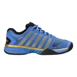 Women's K-Swiss Hypercourt Express 50th Anniversary Edition Shoe 50th/Black/Ultramarine/Gold