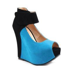 Women's Luichiny Maver Rick Blue/Black Imi Suede