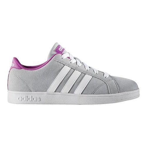 newest 58226 1177f Thumbnail Girls  x27  adidas NEO Baseline Sneaker Clear Onix White Shock  Purple ...