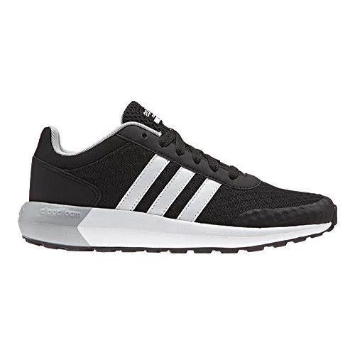 Boys Adidas Neo Cloudfoam Race Sneaker Core Black White Clear Onix Free Shipping Today 13457424