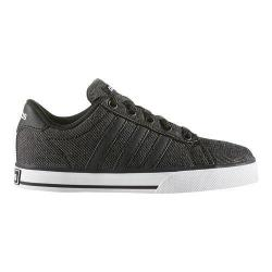 Boys' adidas SE Daily Vulc Core Black/Core Black/White