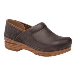 Women's Dansko Professional Clog Stone Distressed Leather