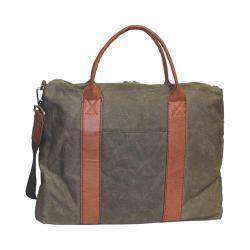 Men's Dopp Canvas Laptop Briefcase Olive