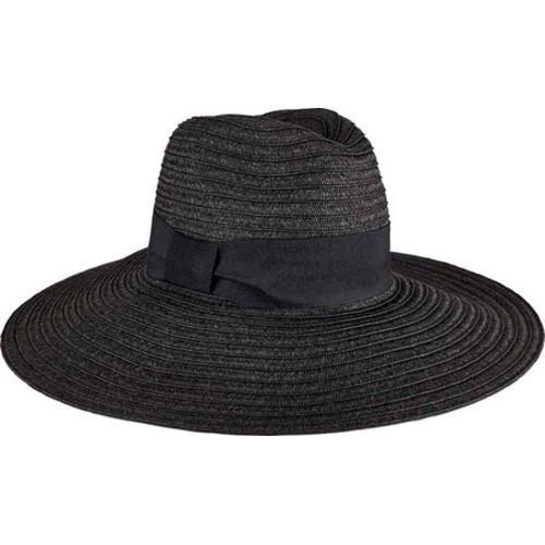 da44a040e01 Shop Women s San Diego Hat Company Ultrabraid Fedora Knotted Grosgrain  UBL6494 Black - Free Shipping On Orders Over  45 - Overstock.com - 13457579